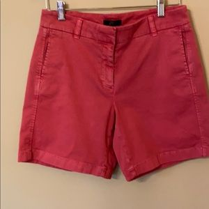 J Crew 7-inch Shorts in Old Red. Size 4. BNWT